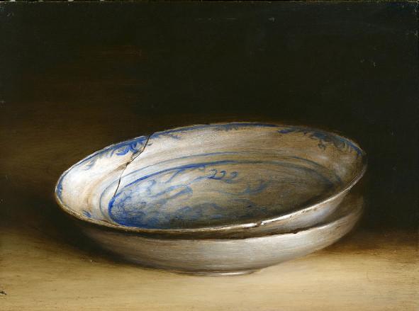 Delft Blue plates by Tanja Moderscheim