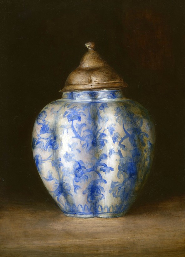 Ham House ginger jar by Tanja Moderscheim