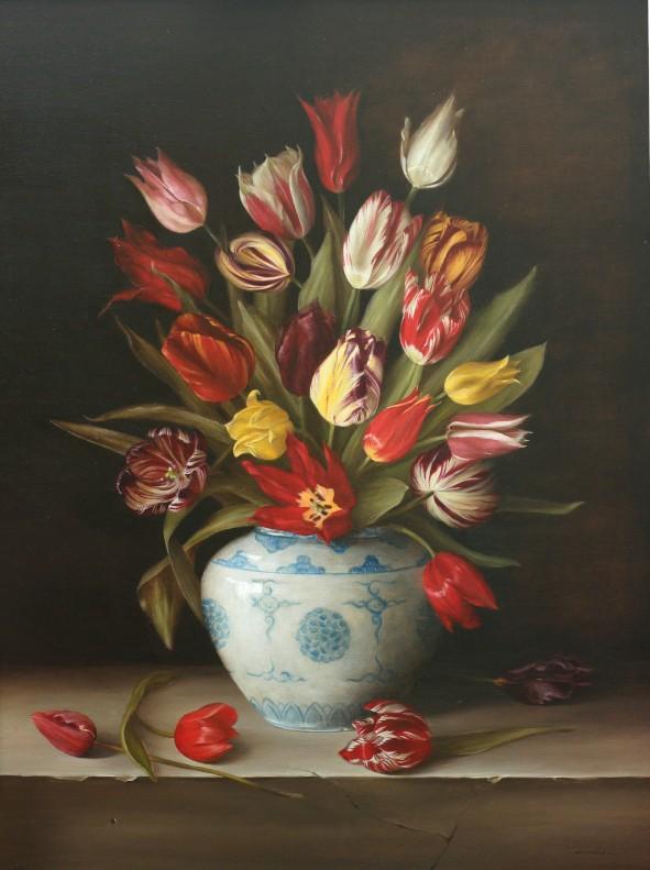 Dutch heritage tulips 16 to 19 C by Tanja Moderscheim